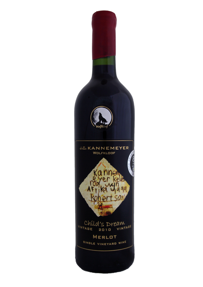 Childs Dream Merlot - 2010, Wolfkloof