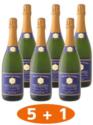 5 plus 1 Flasche Sekt Aquarius Sparpaket.