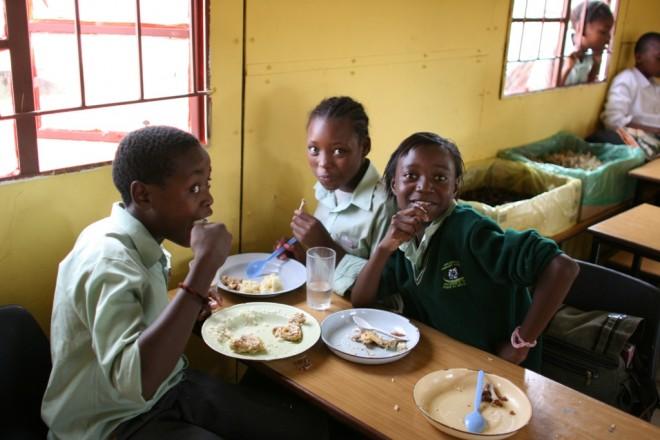 Go Ahead Kinder im Learningcenter in Kwazulu Natal, Südafrika