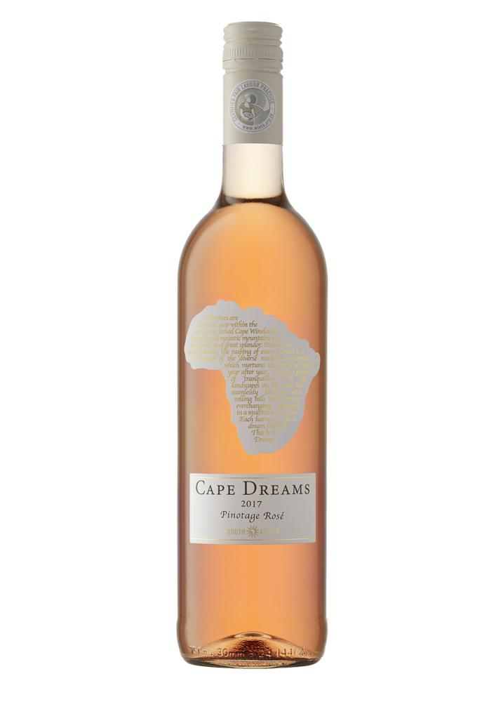 Ein Rosewein aus der zu 100% Rotweintraube Pinotage gekeltert wurde.