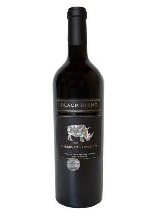 Black Rhino Cabernet Sauvignon 2010 von Linton Park Wines Südafrika