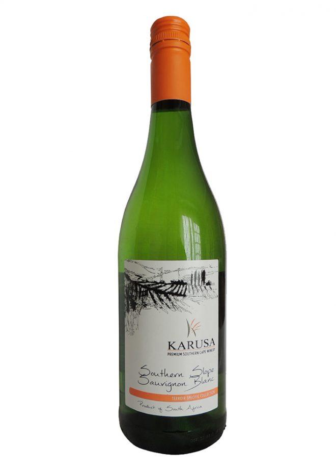 Fruchtiger, feinmineralischer Southern Slope Sauvignon Blanc mit grünem Hauch.