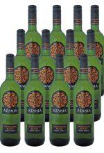 Azania Sauvignon Blanc 2019 mit Aromen von Stachelbeeren und Passionsfrucht von Jacques Germanier in Südafrika von Big5 Weinimport.